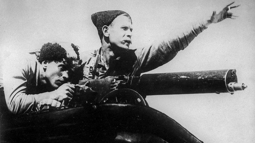 Chapaev war movie