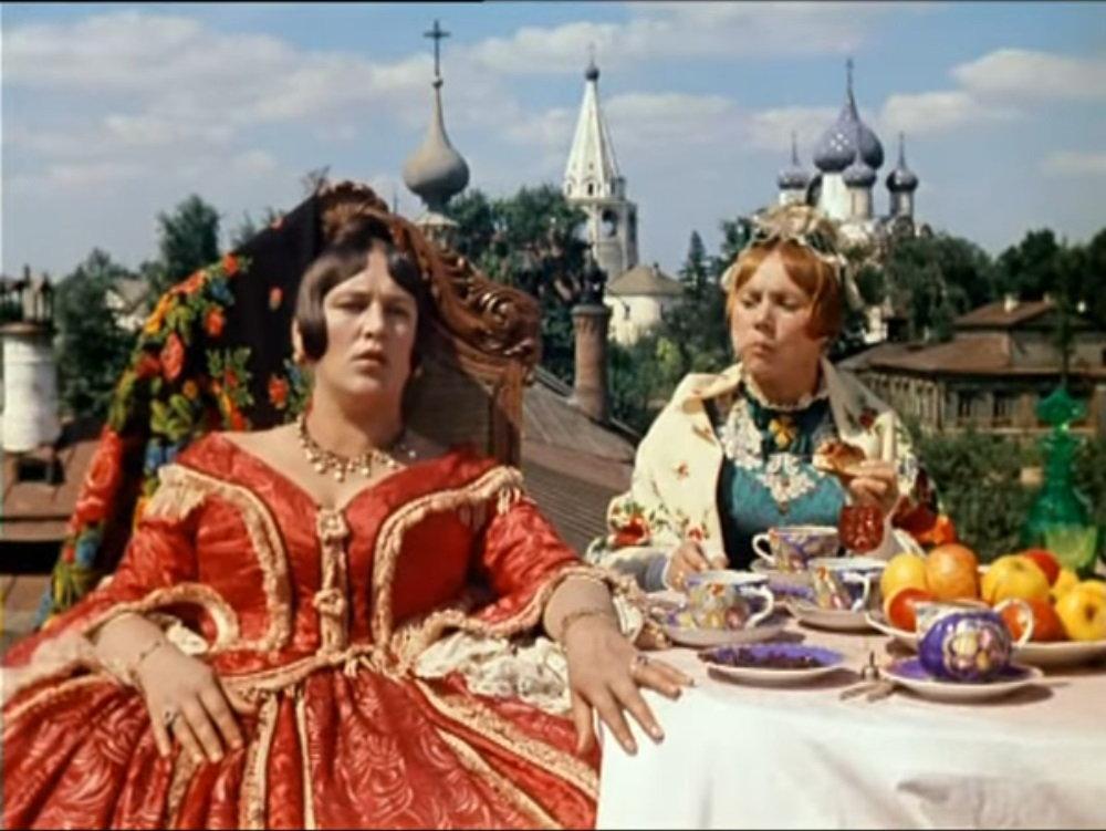 The Marriage of Balzaminov Russian movie